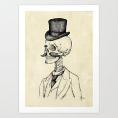 Old Gentleman  Art Print