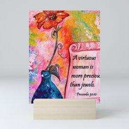 A Virtuous Woman Mini Art Print