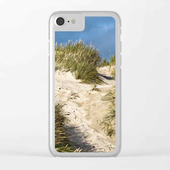 Scandinavian Sand Dune of Henne in Denmark Clear iPhone Case