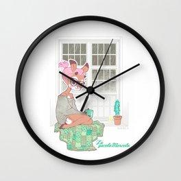 La gacela Marcela window Wall Clock