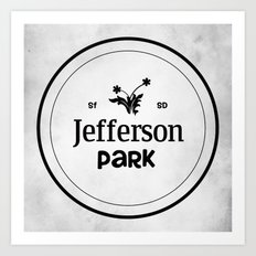 Jefferson Park Art Print