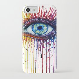 Colorful Eye iPhone Case