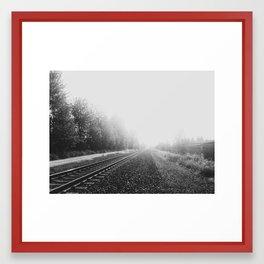 The Tracks Framed Art Print