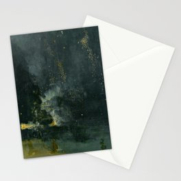 Nocturne in Black and Gold by Whistler, 185 Stationery Cards
