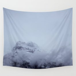Mountain in the Clouds Wall Tapestry