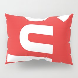SUP Red Pillow Sham