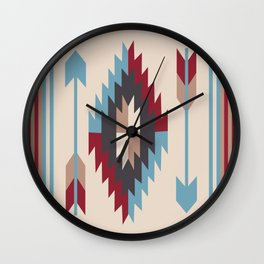 American Native Pattern No. 12 Wall Clock