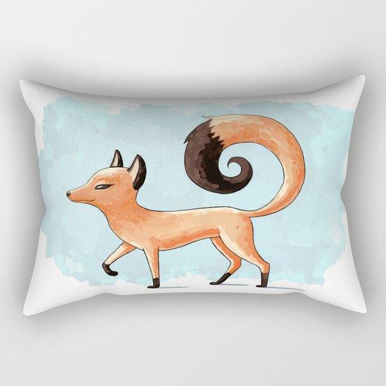 Proud Fox Rectangular Pillow