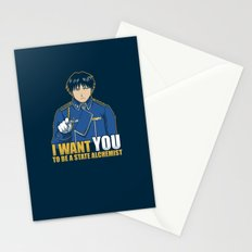 I Want You to be a State Alchemist Stationery Cards