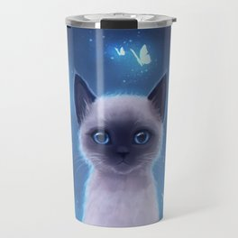 Siamese kitten Travel Mug