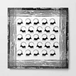 Ancient Goat Metal Print