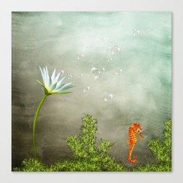 Ocean Deep II Canvas Print