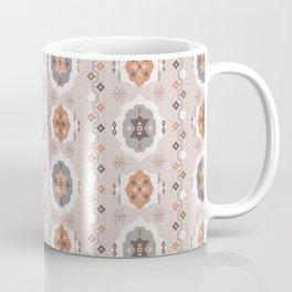 Boho Baby // Middle Eastern Metallic // Nana's Turkish Kilim Carpet in Copper & Gunmetal Gray Coffee Mug
