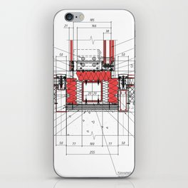 Real architectural detailed knot iPhone Skin