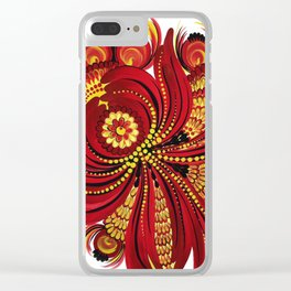 Complicated Heart Clear iPhone Case