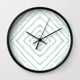 Dye Dash Diamond Sea Salt Wall Clock