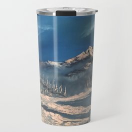 Ice Fields - winter day Travel Mug