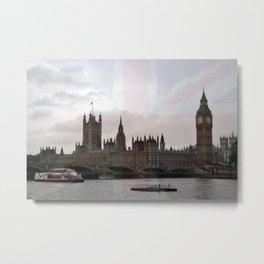 London River Scene Metal Print