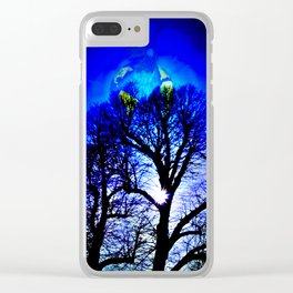 Our World Is A Magic - Moments sunset Clear iPhone Case