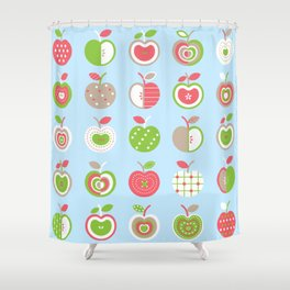 Applelicious Shower Curtain