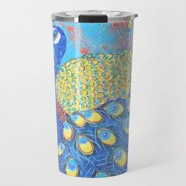 Peacock: Grace Under Fire Travel Mug