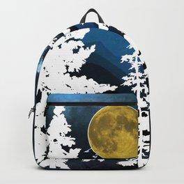 Full Moon Rising II Backpack