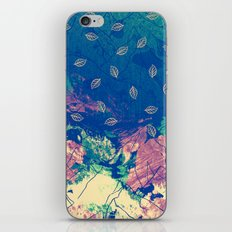 Abstract nature in the mountains iPhone & iPod Skin