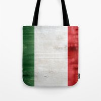 italy Tote Bags featuring Italy by Arken25
