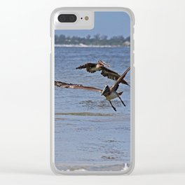 A Gentleman Undone Clear iPhone Case