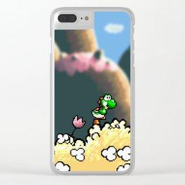 Yoshi's Island Clear iPhone Case