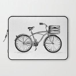Beach Bicycle Laptop Sleeve