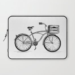 Beach Bicycle Laptop Sleeve