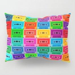 Neon Cassettes Pillow Sham
