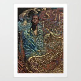 John Coltrane's Sunship Art Print