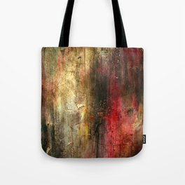 Fall Abstract Acrylic Textured Painting Tote Bag
