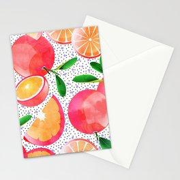 Citrus Love #digitalart #citrus Stationery Cards