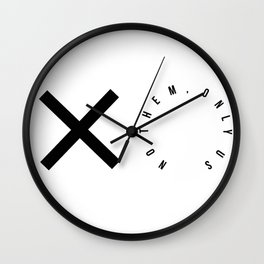 No them, only us Wall Clock