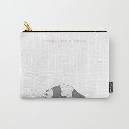 I feel like panda t shirt itsyourprint Carry-All Pouch