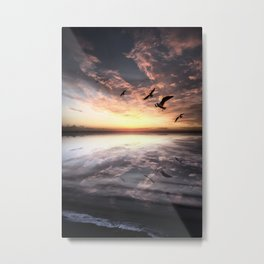 Water and Heaven Metal Print