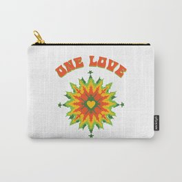 One Love fractal Carry-All Pouch