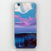 hologram iPhone & iPod Skins featuring Paint by Claudia