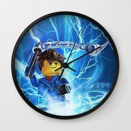 jay lighting ninja Wall Clock