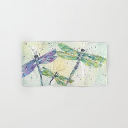 Xena's Dragonfly Hand & Bath Towel