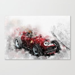 Tony Brooks Canvas Print