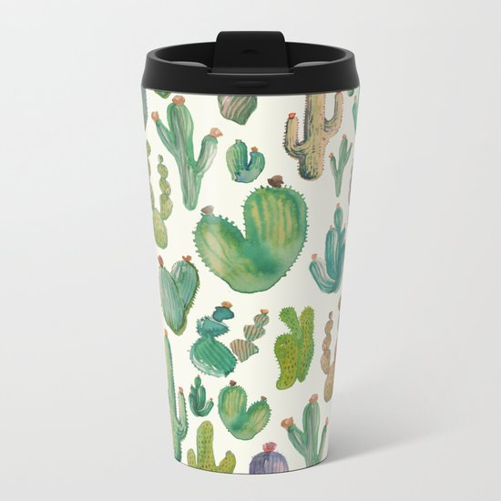 cactus collab Metal Travel Mug