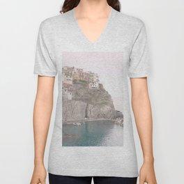 Cinque Terre, Italy Unisex V-Neck