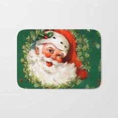 Jolly Ole Santa Pixel Bath Mat