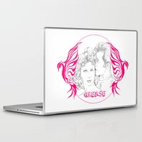 grease Laptop & iPad Skins featuring Grease (Sketch & bird design) by Rene Alberto