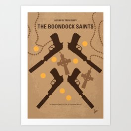No419 My BOONDOCK SAINTS mmp Art Print