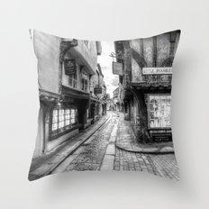 The Shambles Street York Throw Pillow